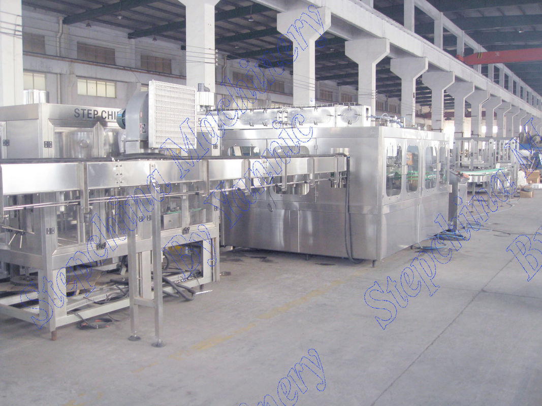 Automatic Bottle Filling Machine / Water Bottling Equipment For Pure Water