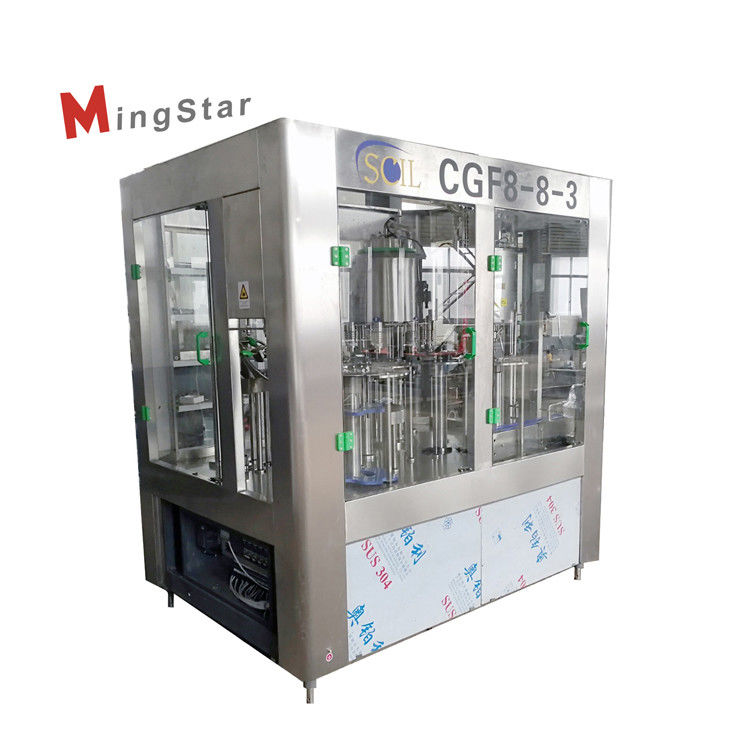Rotary Type Customized Plastic Bottle Filling Machine Plc Automatic Control Fully